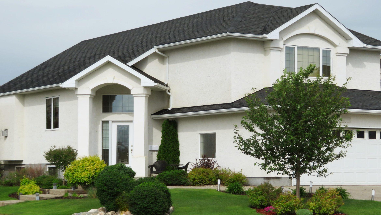 Dach auf Einfamilienhaus